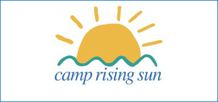 camp rising sun logo