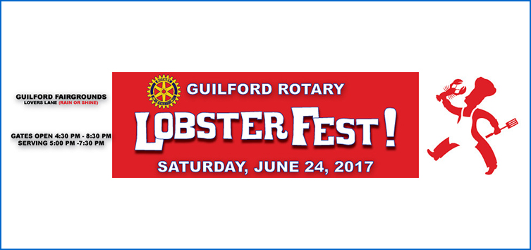 Guilford Lobsterfest Logo